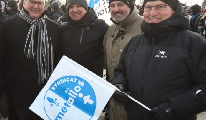 Après un an de lock-out, le SCFP toujours solidaire avec les syndiqués de l'aluminerie de Bécancour