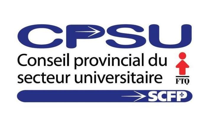 Le CPSU déplore que des jeux partisans à l'Assemblée nationale puissent menacer les visées du Sommet sur l'enseignement supérieur