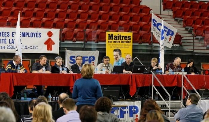 assemblée générale du SEUL-SCFP 2500