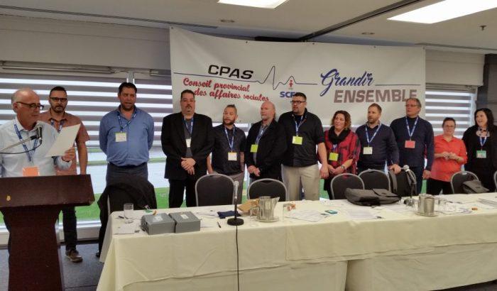 Congrès 2017 du Conseil provincial des affaires socialesUn congrès sous le signe du renouveau