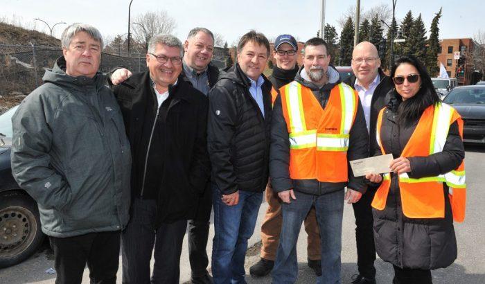 Le SCFP resserre les rangs autour des lockoutés de Viterra au Port de Montréal