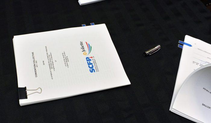 Signatures d'importance à la Ville de Joliette