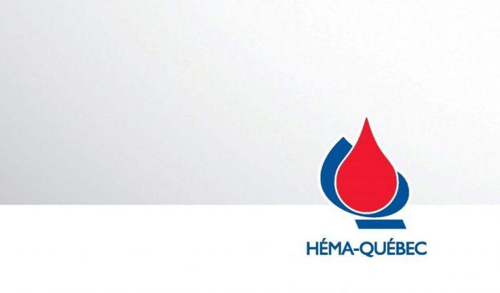 La section locale 3807 conclut une entente de principe avec Héma-Québec